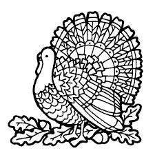 canada thanksgiving day turkey on mozaic coloring page canada