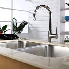 kraus kpf1622ksd30sn single lever pull out kitchen faucet with hi