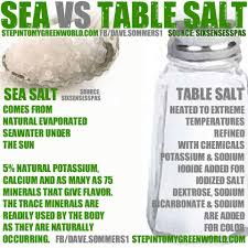 sea salt and table salt sea salt vs table salt it is what it is