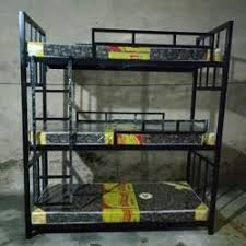 3 Tier Bunk Bed Bunk Beds Hostel Bunk Bed Manufacturer From Mumbai