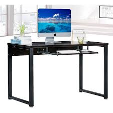 Home Office Computer Desk by Large Rectangular Computer Desk Office Desk With Keyboard Tray