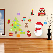 christmas wall decals removable uk color the walls of your house christmas wall decals removable uk removable christmas wall stickers by mirrorin notonthehighstreet com