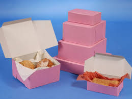 wholesale bakery boxes strawberry pink cake boxes