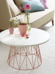 Wire Side Table 25 Diy Side Table Ideas With Lots Of Tutorials Diy Coffee Table