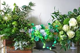 s day floral arrangements 4 diy green flower arrangements for st s day hgtv