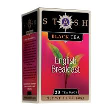 stash tea breakfast black tea 20 count tea bags in foil