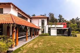 spacious farm house design by kumar moorthy u0026 associates