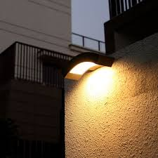 fashion garden light waterproof outdoor wall lamp brief balcony