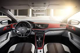 volkswagen polo interior 2010 2018 volkswagen polo officially revealed gti packs 147kw