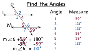 how do you find missing angles in a transversal diagram