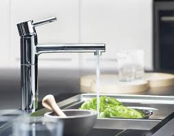 grohe faucet kitchen grohe 32170000 essence single spray pull out kitchen faucet