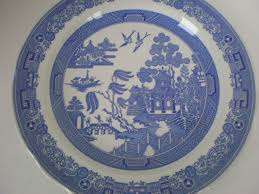 spode blue room collection willow plates 2 15 99