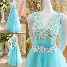 Wedding Dresses Light Blue Light Blue Wedding Dresses Beaded Sequins Floor Length Backless V