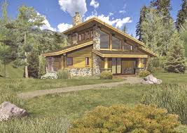 grandview ii log homes cabins and log home floor plans