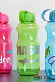 personalized water bottles a few shortcuts