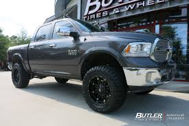 Dodge Ram Trucks With Rims - dodge ram with 20in fuel hostage wheels exclusively from butler