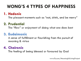 Types Meaning Wong U0027s 4 Types Of Happiness Dr Paul Tp Wong U0027s