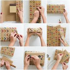 How To Wrap Gifts - diy how to wrap a gift with toodles noodles u2014 found made modern