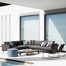 canape d exterieur design canapé d extérieur modulable natal alu sofa concept tribù saisons