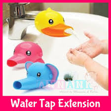 qoo10 child water tap faucet extender extension cartoon hand