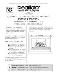 heatilator gas fireplace manual dact us