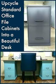 File Cabinet Desk Diy File Cabinet Desk Diy Filing Cabinet Desk Pg Everyday United With