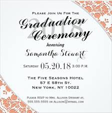 ceremony cards commencement ceremony invitation wording we like design