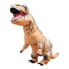 dinosaur halloween costume for adults wholesale two size big inflatable dinosaur t rex costume for kid