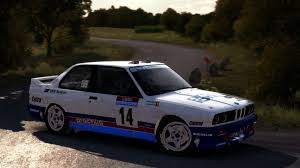 bmw rally car bmw e30 prodrive livery tour de corse u002787 marc duez