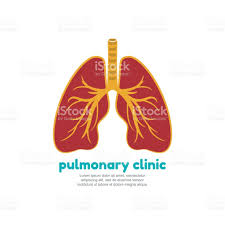template icon for human lungs pulmonary clinic stock vector art