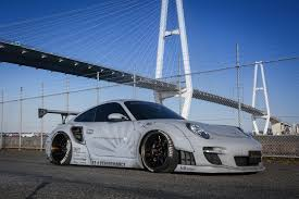 porsche life size liberty walk comes to europe with widebody porsche 997 total 911