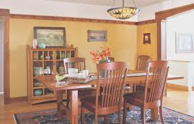 Arts And Crafts Style Homes Interior Design Popular Craftsman Style Dining Room Ideas On Dining Room Lighting