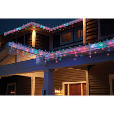 best deal on led icicle lights holiday time 450ct led icicle mu walmart com