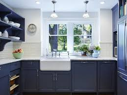 what color appliances with blue cabinets beautiful blue kitchen cabinet ideas