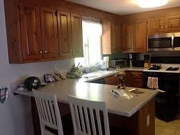 To Paint Or Stain Kitchen by Knotty Pine Kitchen Custom Cabinets Can I Stain Paint Or Replace