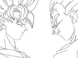 dragon ball coloring pages boo kids coloring