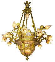 Antique Baccarat Chandelier Jan S Company Antiques Inc The Best Kept Secret