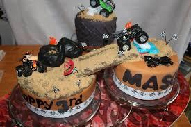 big truck birthday cakes monster truck birthday cake by sandys