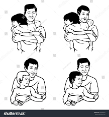 set father son logofathers day stock vector 430328443 shutterstock