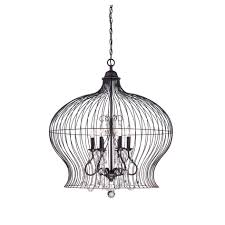 unique birdcage pendant light chandelier 69 for contemporary