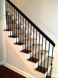 metal banister ideas contemporary stair rails and banisters best metal spindles ideas