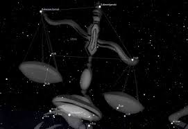 Red Black And Green Flag With Moon And Star Libra Constellation Facts About The Scales