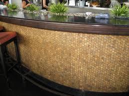 mosaic cork wall tiles modern dining room hawaii by design