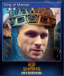 Meme Trading Cards - so my dad recently bought age of empires ii hd edition on steam