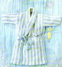 robe de chambre bébé modèle tricot robe de chambre bébé