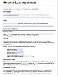 19 simple personal loan agreement template format of salary