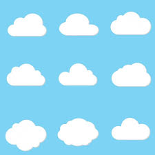 cloud designs collection vector free