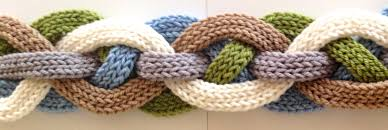 the flat i cord gets wide really wide knitting nuances