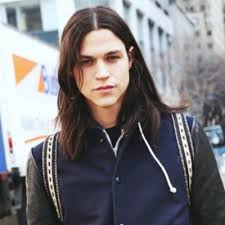 mens middle parting hairstyle the best hairstyles for long hair long dark hair mens hair and