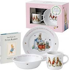 rabbit wedgwood wedgwood rabbit pink 3 gift set plus book